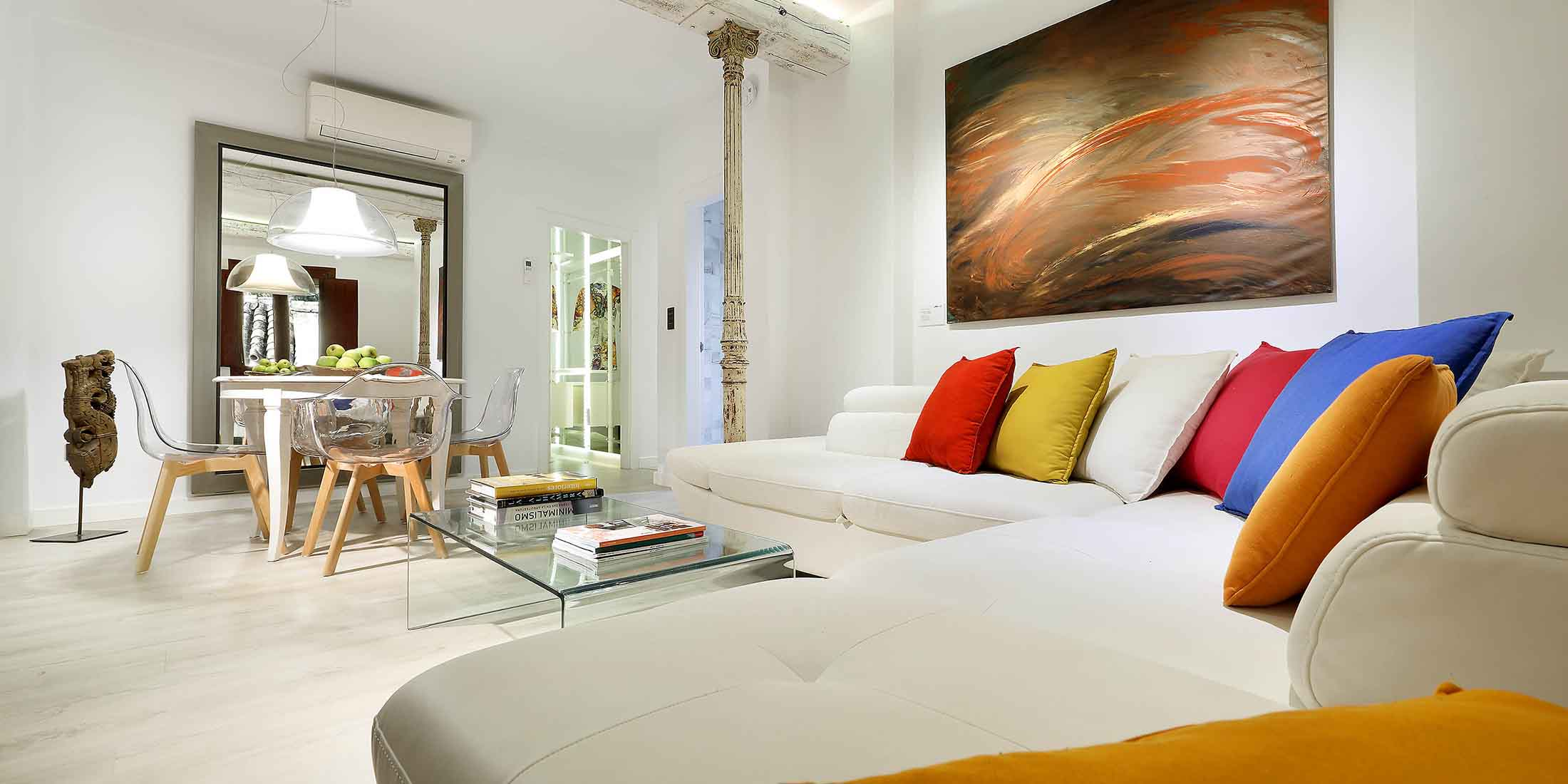 art chapiz granada modern apartments for rent with sofa bed