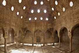 alhambra tickets Arab baths visited with alhambra entrance ticket, granada
